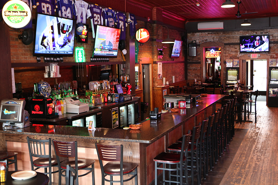 A closer look at the bar